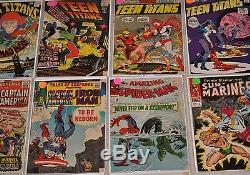 Comic Book Lot Silver Age Modern Comics Batman, Wonder Woman 725 comics