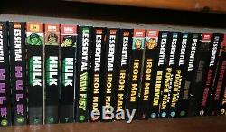 Complete Collection of all Printed Marvel Essential Books 179 TPB Graphic Novels