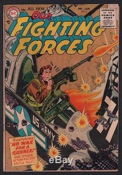 Complete Run of Our Fighting Forces #1-181 DC War Kubert GREY TONE 181 Comics