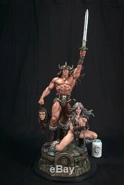 Conan Statue Sculpture Art / Nt XM Sideshow Prime 1 / Marvel Comics / AP
