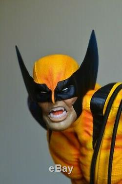 Custom Marvel 1/4 Scale Wolverine X23 Diorama statue like sideshow xm studios