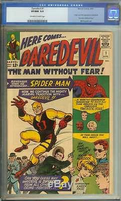 DAREDEVIL #1 CGC 9.0 OWithWH PAGES