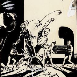 DAREDEVIL #185 Klaus Janson Original Art, Frank Miller story