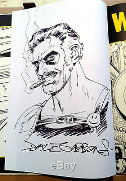 DAVE GIBBONS Watchmen IDW Artifact Edition withLARGE ORIGINAL Comedian SKETCH