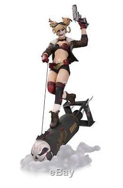 DC Bombshells Harley Quinn Deluxe Statue