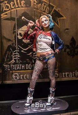 DC COMICS NEW! HARLEY QUINN Suicide Squad MARGOT ROBBIE STATUE JOKER BATMAN