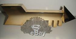 DC COMICS SUPERMAN KEY TO FORTRESS OF SOLITUDE REPLICA PROP MIB! Statue Batman