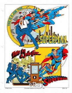 DC Comics Style Guide Super Powers Jose Luis Garcia Lopez Model Sheet Superman