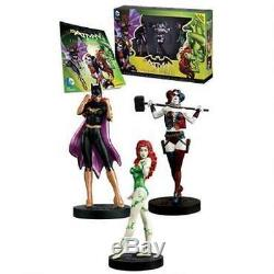 DC Masterpiece BATMAN Femme Fatales Series 2 Statue SET HARLEY QUINN IVY Batgirl