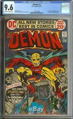 Demon #1 Cgc 9.6 White Pages