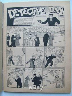 DETECTIVE DAN #1 PLATINUM AGE Extremely Rare 1st Newsstand Comic Book KEY