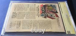 Daredevil #1 Cbcs 9.0 White Pages Ss Stan Lee 1st App Key Grail 1964 Comic Book