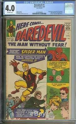 Daredevil #1 Cgc 4.0 Ow Pages