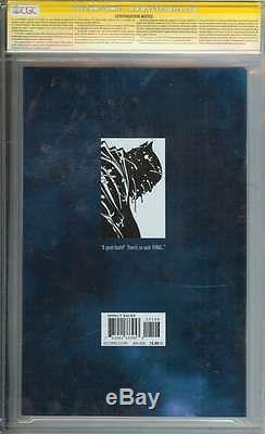 Dark Knight III The Master Race #1 Cgc 9.8 Ss Miller // Jim Lee
