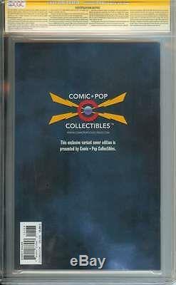 Dark Knight III The Master Race (dk3) #1 Cgc 9.8 // Comic Pop Ss Frank Miller