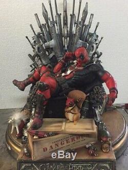 Deadpool Game of Thrones Statue Exclusive Version Sculpture Nt FX Sideshow