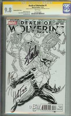 Death Of Wolverine #1 Cgc 9.8 White Pages