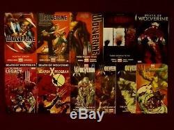 Death of Wolverine TPB NM Wolverines Vol 1-4 + Weapon X + Logan Legacy Marvel