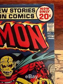 Demon # 1 VF/NM White (DC, 1972) 1st appearance of the Demon solid book