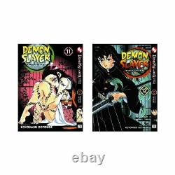 Demon Slayer Kimetsu No Yaiba English Manga by Koyoharu Gotouge Vol. 1-21 New Set
