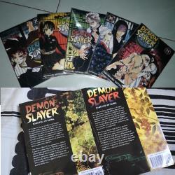 Demon Slayer Kimetsu No Yaiba Manga Volume 1-21 Set English Comic