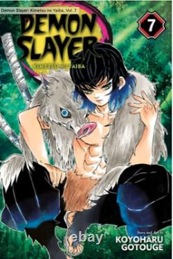 Demon Slayer (Vol. 1,2,4,5,6,7,11,13-20) English Manga Graphic Novels Brand New
