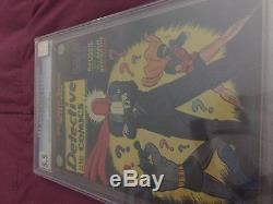Detective Comics #168 CGC 5.5 OW Pages