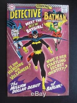 Detective Comics #359 DC 1967 -Batman- 1st App of Batgirl 1st S. A. Killer Moth