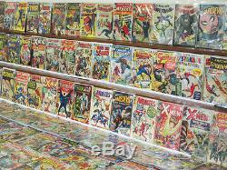ESTATE Marvel Silver Bronze KEY Comic Collection GS Xmen 1 ASM 2 121 Avengers 4