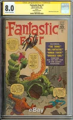 FANTASTIC FOUR #1 CGC 8.0 OWithWH PAGES