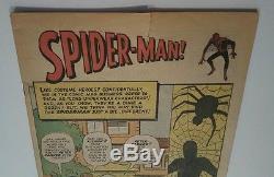 FIRST Spider-man AMAZING FANTASY #15