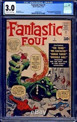 Fantastic Four #1 CGC 3.0