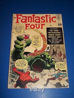 Fantastic Four #1 Silver Age Enormous Key 1st FF Extremely Rare Solid VG-/VG