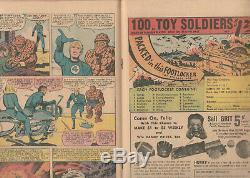 Fantastic Four #48 (1966 Marvel) 1ST APP OF SILVER SURFER & GALACTUS Kirby Art