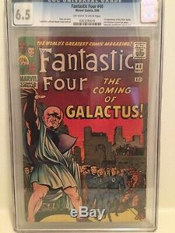 Fantastic Four 48 CGC 6.5. First Appearance, Silver Surfer And Galactus
