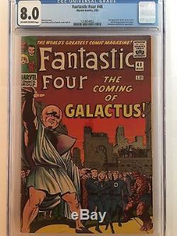 Fantastic Four #48 CGC 8.0 VF 1st Appearance of the Silver Surfer and Galactus