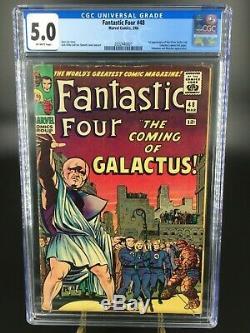 Fantastic Four #48 VG/FN CGC 5.0