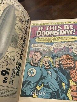 Fantastic Four 49 1966 2nd Silver Sufer 1st Full Galactus