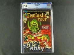 Fantastic Four #49 Cgc 7.0 1st Cover Galactus & Silver Surfer Marvel Comics