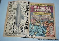 Fantastic Four 49 Marvel Comic Book 1966 VG 2nd Silver Surfer