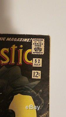Fantastic Four #52 (Jul 1966, Marvel) 1st Black Panther