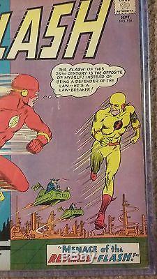 Flash #139 Raw 9.0 DC COMICS 1963 First Reverse Flash / Professor Zoom