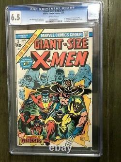 GIANT SIZE X-MEN #1 (1975) 6.5 CGC 1st Storm Colossus Nightcrawler Thunderbird