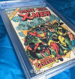 GIANT SIZE X-MEN #1 CBCS 7.0 Bronze Age White Pages1975 Comic Book GSX 1