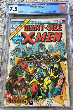 GIANT SIZE X-MEN #1 CGC 7.5 Bronze Age OWithW pages 1975 Comic Book GSX 1
