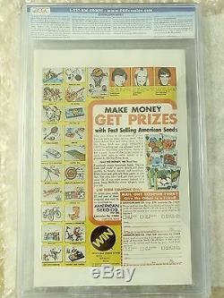 GIANT SIZE X-MEN #1, CGC 9.6, White Pages! Centered, clean corners and spine