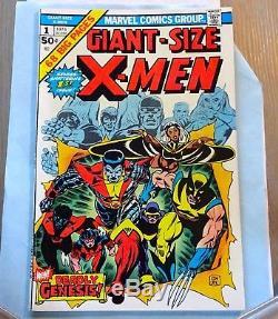 GIANT-SIZE X-MEN #1 High Grade VF super KEY 1st Storm, Nightcrawler, Colossus