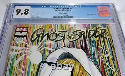 Ghost-Spider #2 Spider-Gwen #52 CGC Universal Grade Variant Comic Book 9.8