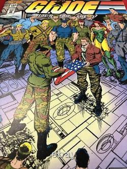 Gi Joe Comic Book Dec 155 Final Issue Very Nice