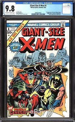 Giant-Size X-Men #1 CGC 9.8 (NM/MT) 1st New X-Men! Bronze Age Key! $8,600 Value